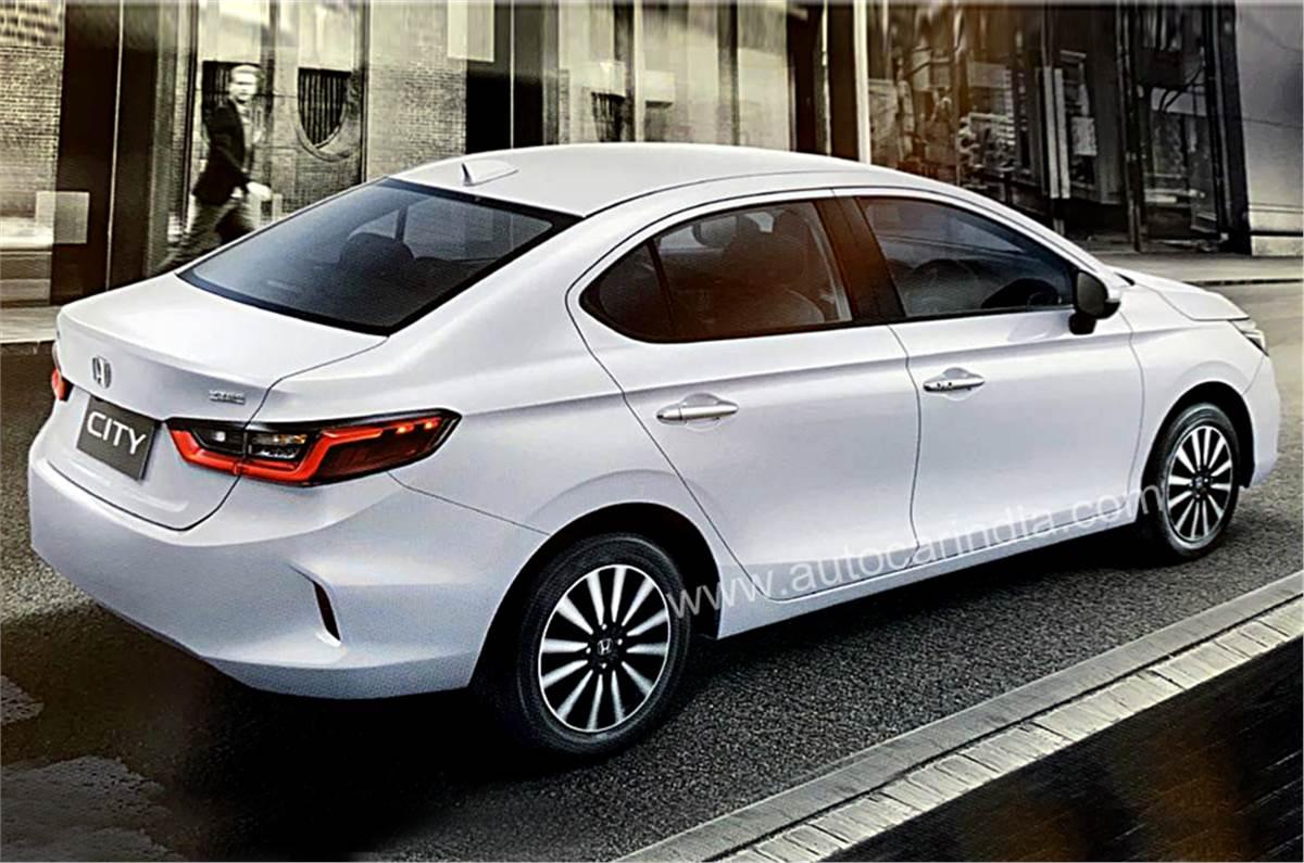 2020 Honda City Revealed India Launch In Mid 2020 Autocar India