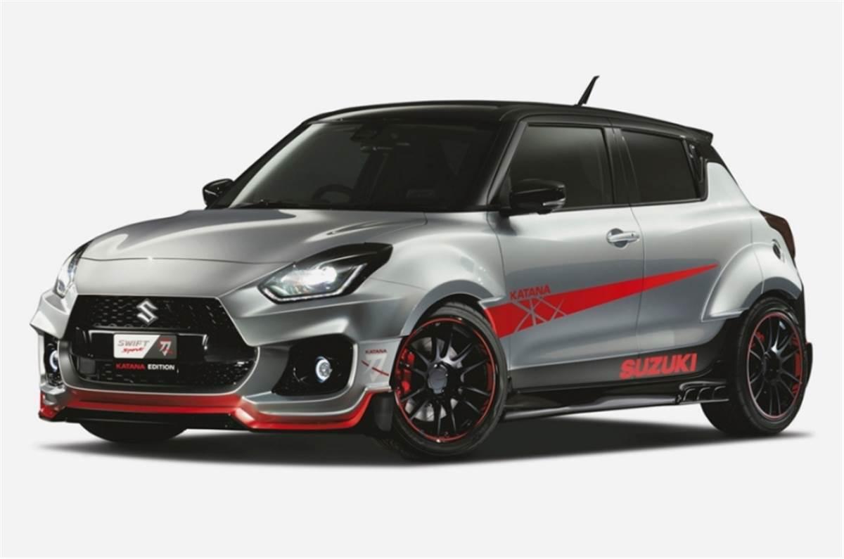 Suzuki To Showcase The Swift Sport Katana Edition At The Tokyo Auto Salon 2020 Autocar India