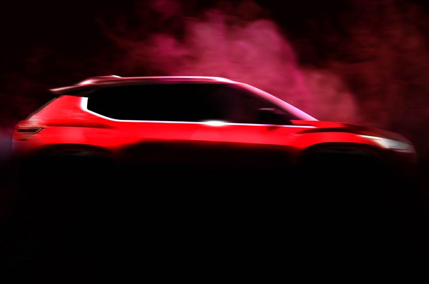 Nissan Compact Suv Teaser Revealed Before India Launch By Diwali 2020 Autocar India
