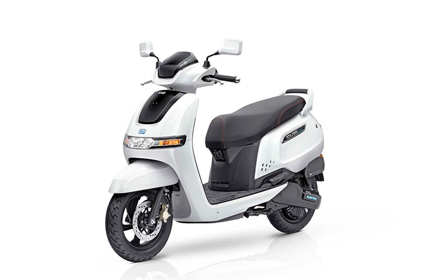 5 things you must know about the TVS iQube electric scooter ...
