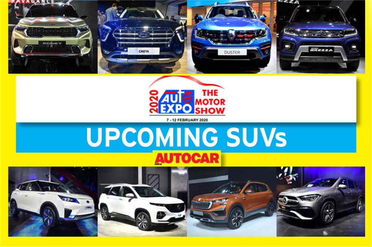 Auto Expo 2020 All The Upcoming Suvs You Can Buy Over The Next 24 Months Listed Autocar India