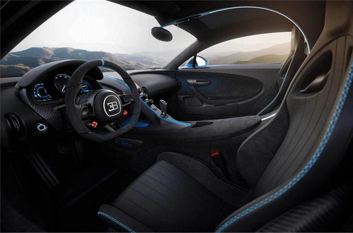 2020 Bugatti Chiron Pur Sport Unveiled As Handling Focused Hypercar Autocar India