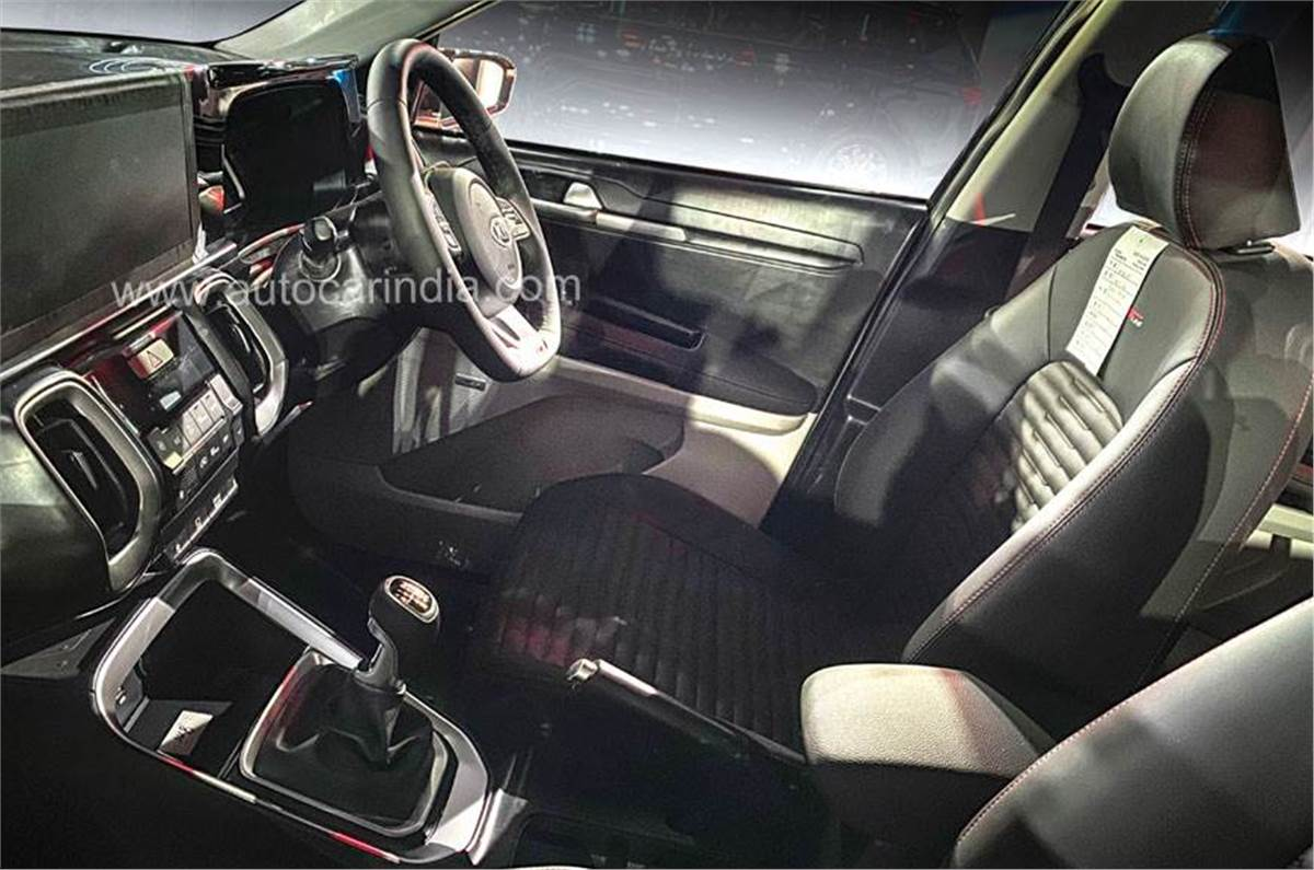 Kia Sonet Interior Details Explained Autocar India