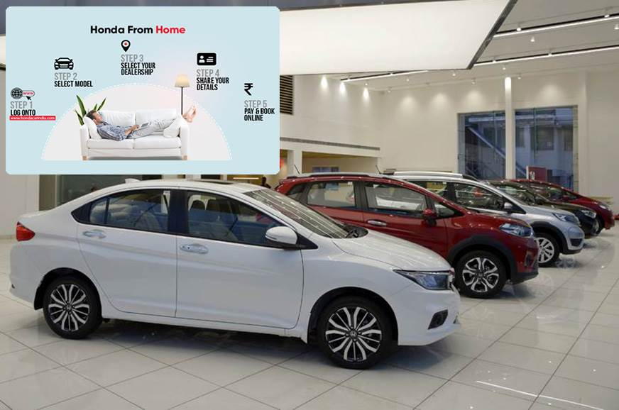 Honda Cars India introduces 'Honda from Home' online vehicle booking  platform - Autocar India