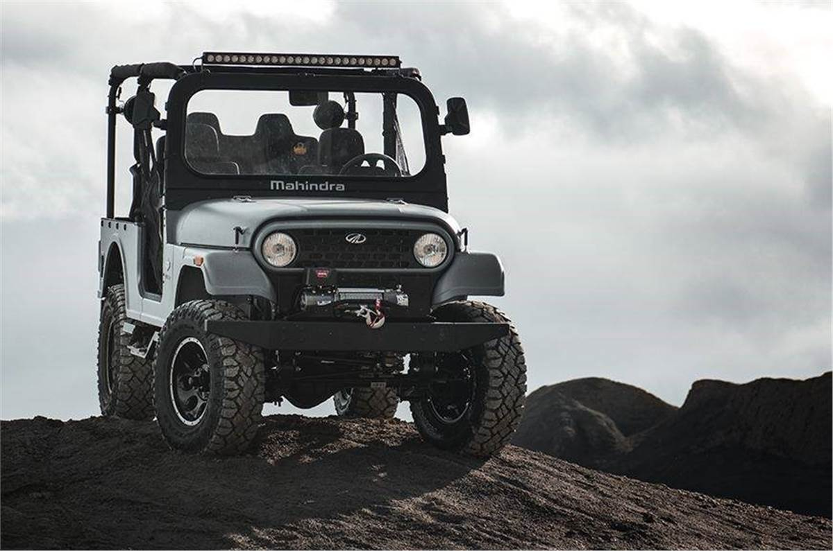 Mahindra Roxor Thar Based Suv Imports Blocked In The Us For Copying Jeep Wrangler Autocar India