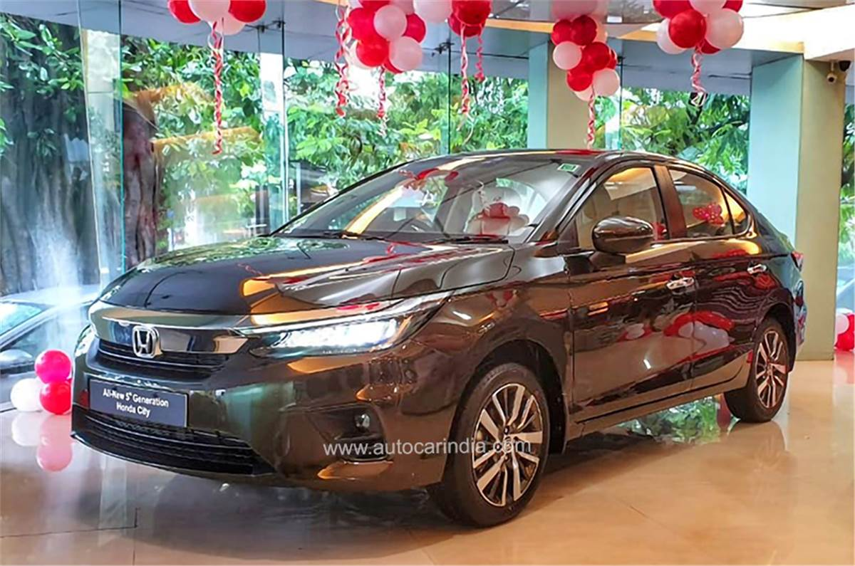 2020 Honda City What You Get In Each Variant Autocar India