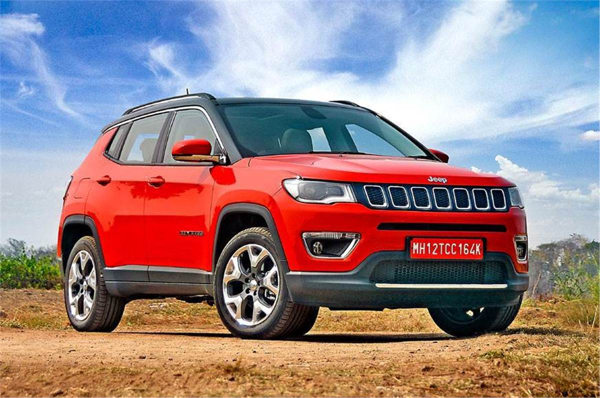 Jeep Compass Facelift Interior Uconnect 5 Large Touchscreen First Pictures Autocar India
