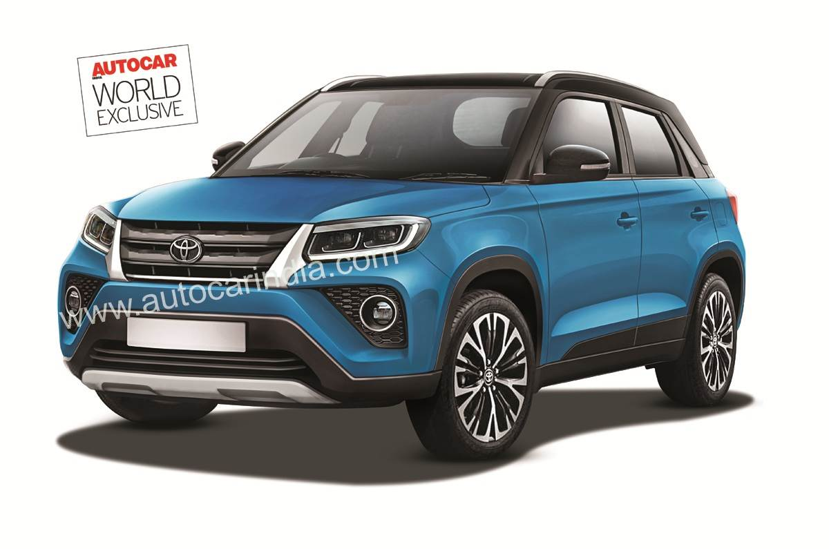 Toyota Urban Cruiser Suv Image Revealed Ahead Of Launch Autocar India