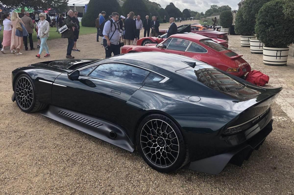 Aston Martin Reveals 848hp V12 Victor Hypercar Autocar India