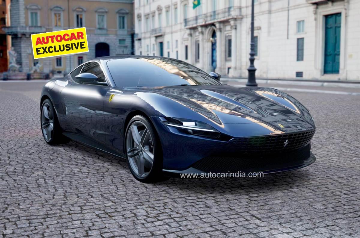 Exclusive Ferrari Roma Priced At Rs 3 61 Crore In India Autocar India