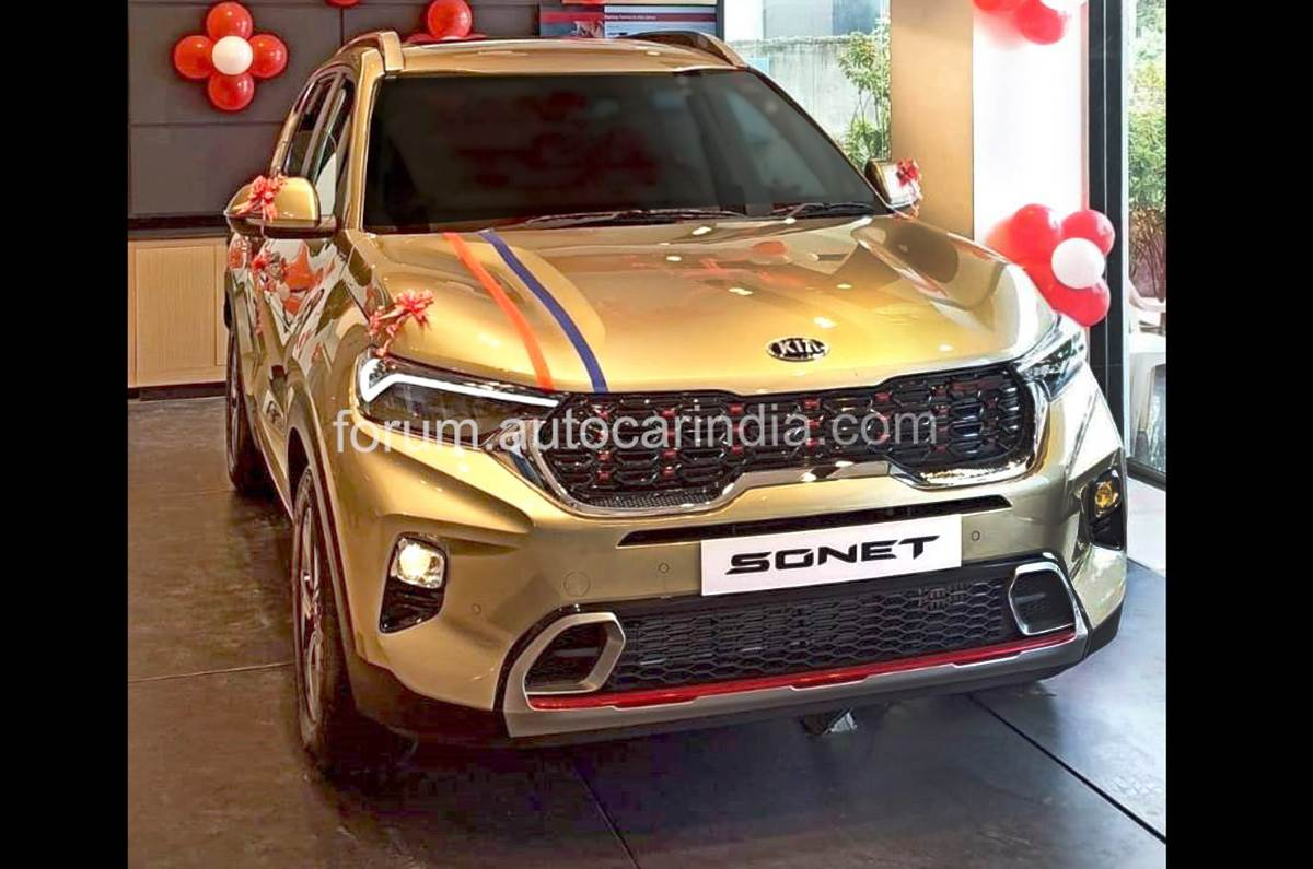Kia Sonet Gtx Automatic Most Popular Variant Ahead Of Price Announcement Autocar India
