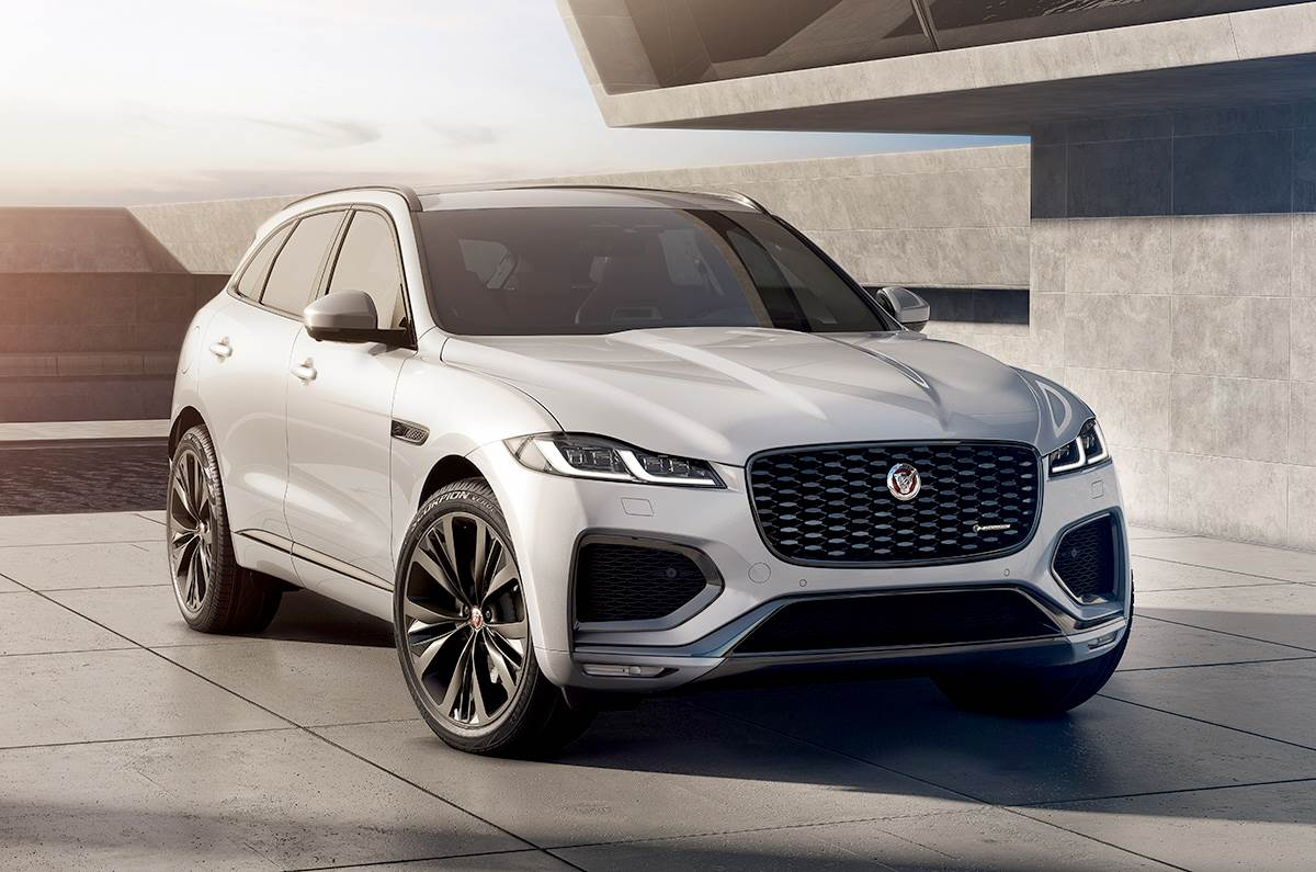 Updated Jaguar F-Pace debuts with revised styling and new hybrid engines - Autocar India