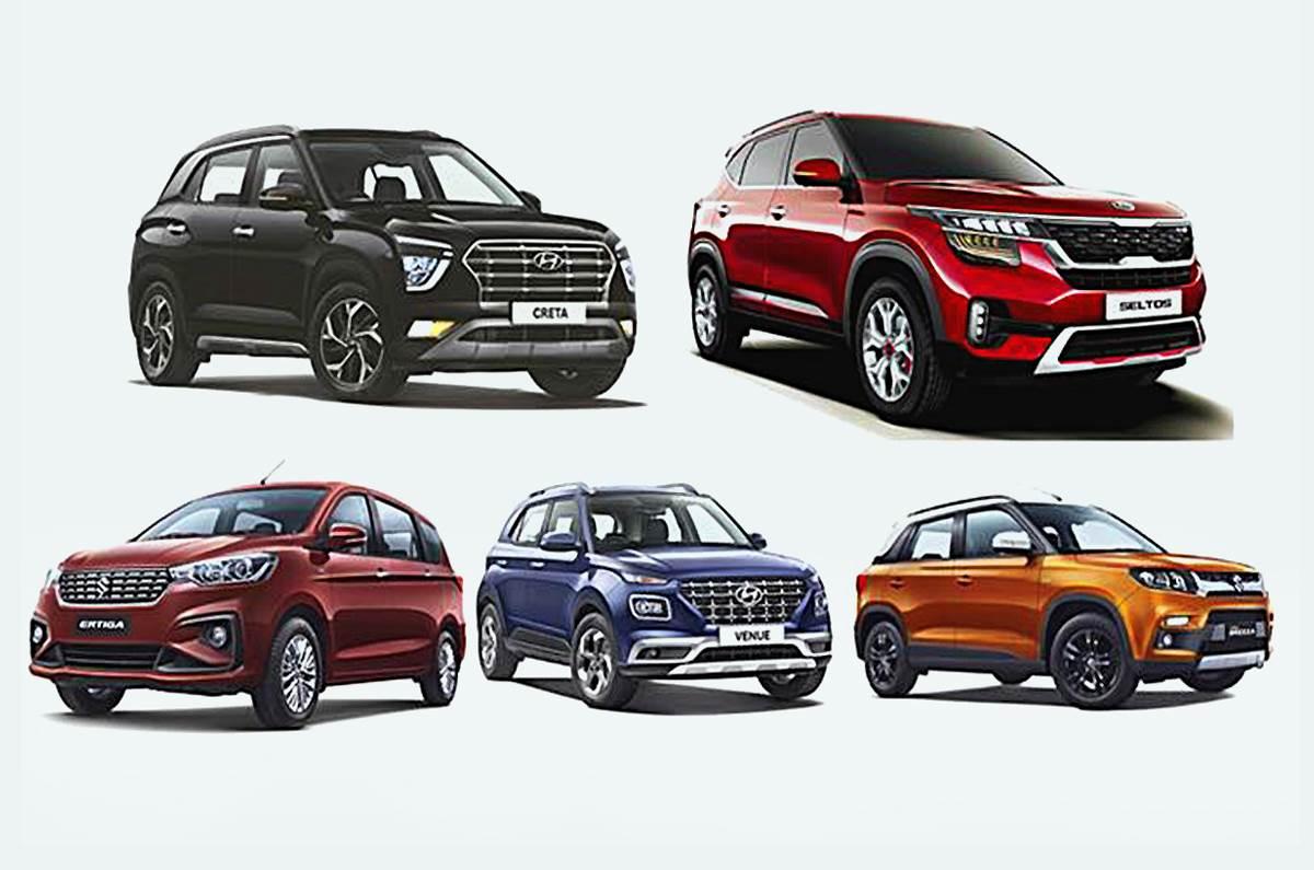 Top 5 Suv Mpv Sales In August 2020 Autocar India