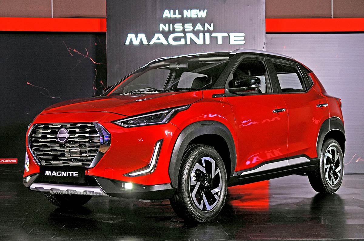 Nissan Magnite Suv Engine Gearbox Variant Details Revealed Autocar India