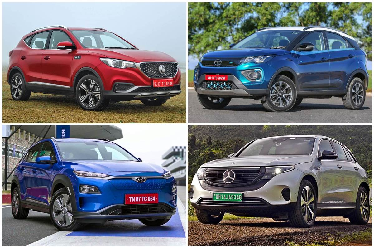 EV cars, SUVs in India you can buy in 2020-2021 - Autocar India