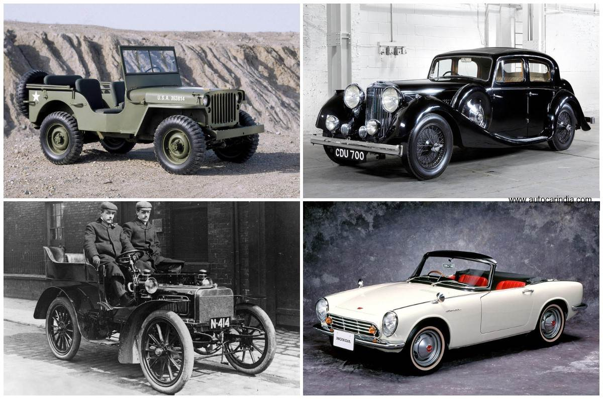First ever cars made by some of the world's most popular carmakers -  Autocar India