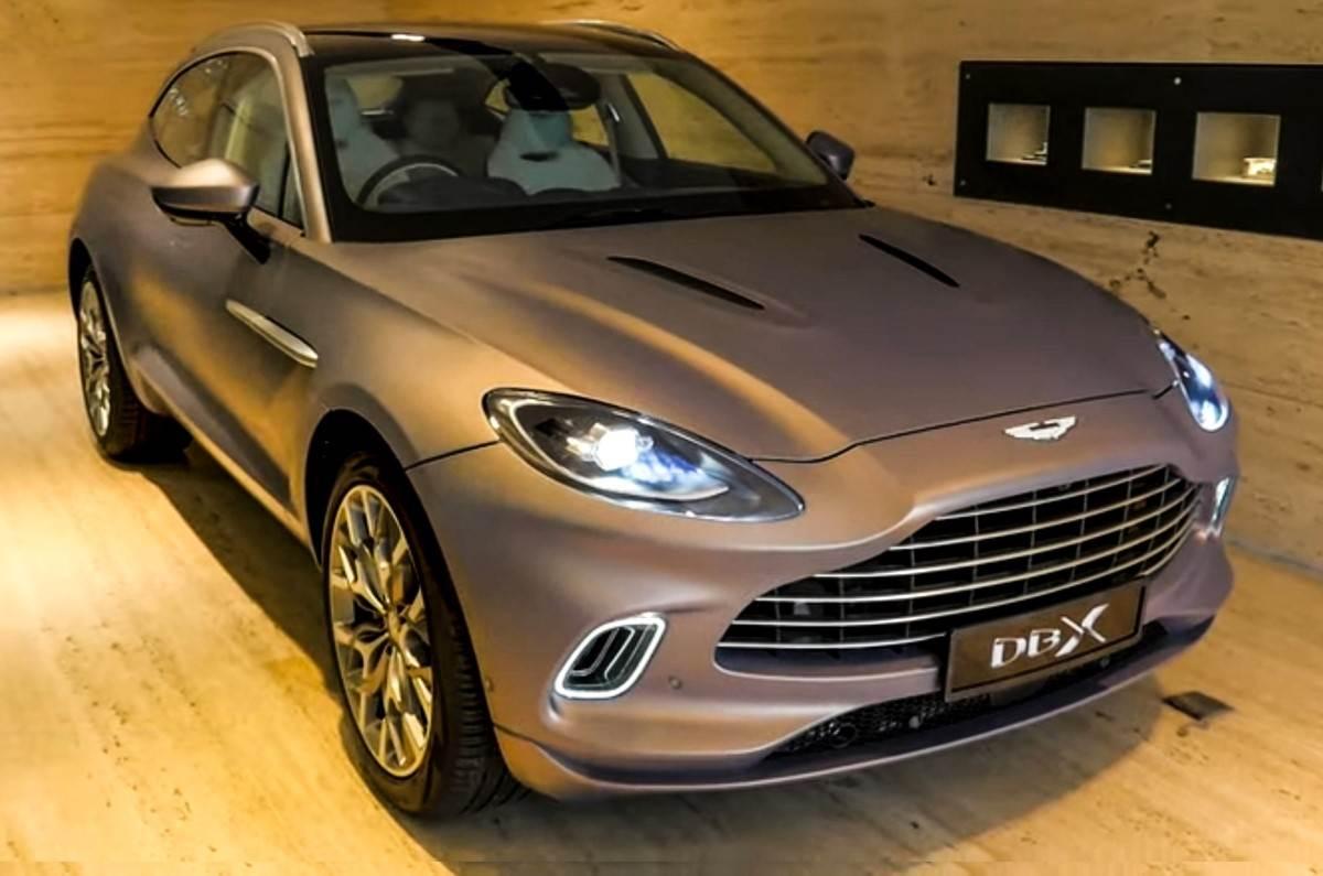 Aston Martin Dbx Price In India Is Rs 3 82 Crore Autocar India