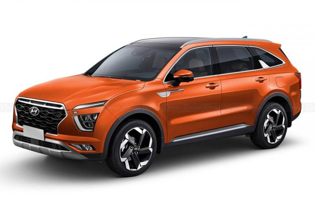 Hyundai Alcazar to debut in April 2021 - Autocar India
