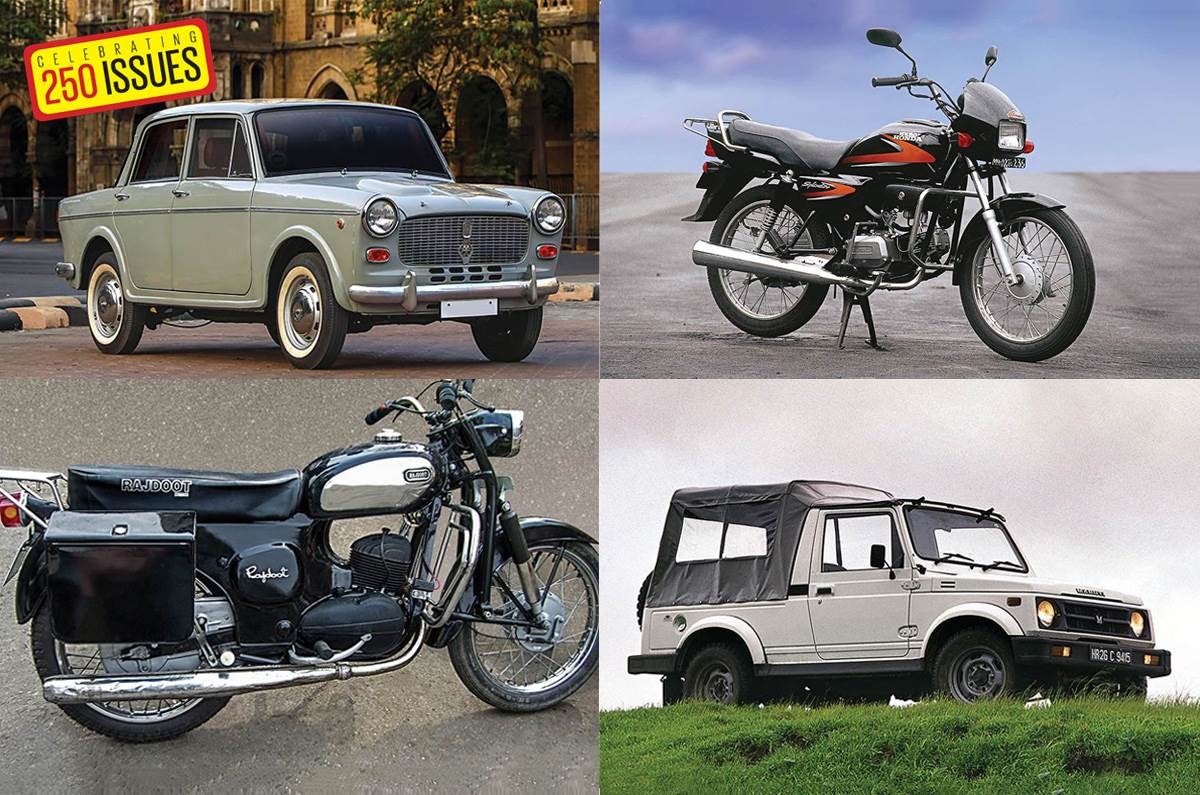 Longest Running Cars And Bikes In India Feature Autocar India