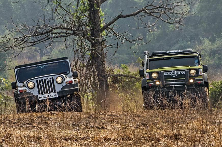 2018 Mahindra Thar vs Force Gurkha comparison