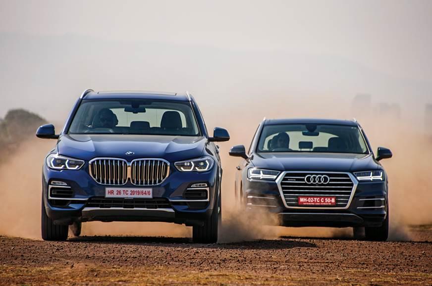 BMW X5 vs Audi Q7 comparison