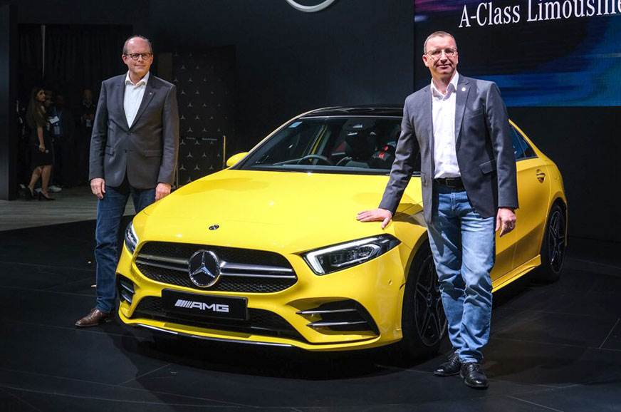 Mercedes-Benz A-Class sedan makes India debut in AMG A35 guise