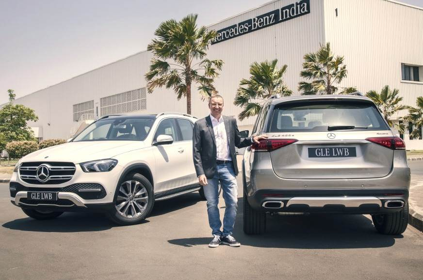 Mercedes-Benz GLE 450 launched at Rs 88.80 lakh