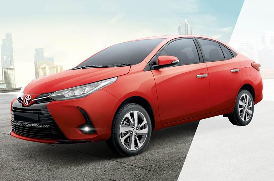 Toyota Yaris facelift revealed