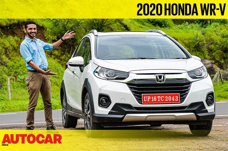 2020 Honda WR-V facelift video review