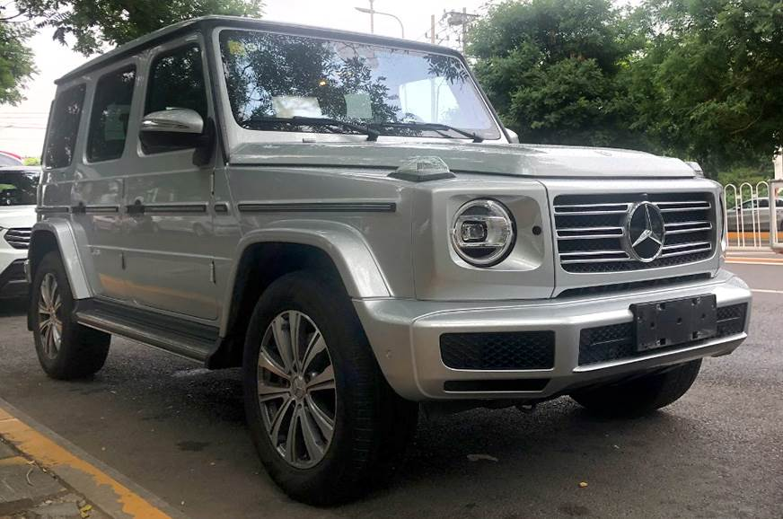 Mercedes G-Class to get four-cylinder petrol engine overseas