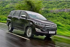 2020 Toyota Innova Crysta 2.4D AT review, test drive