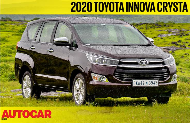 2020 Toyota Innova Crysta 2.4 diesel AT video review