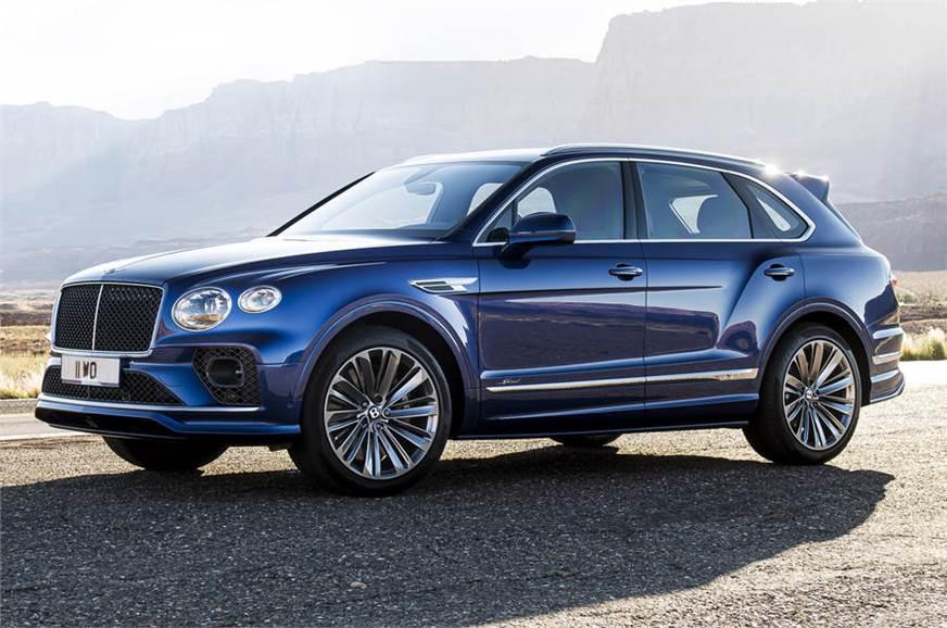 Bentley Bentayga Speed facelift unveiled