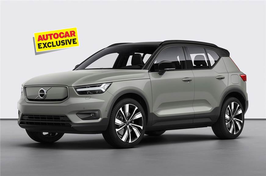 Volvo XC40 Recharge EV India launch in 2021