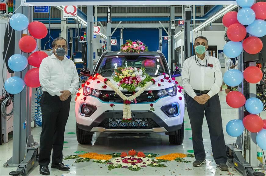 Tata Nexon EV production crosses 1,000 units