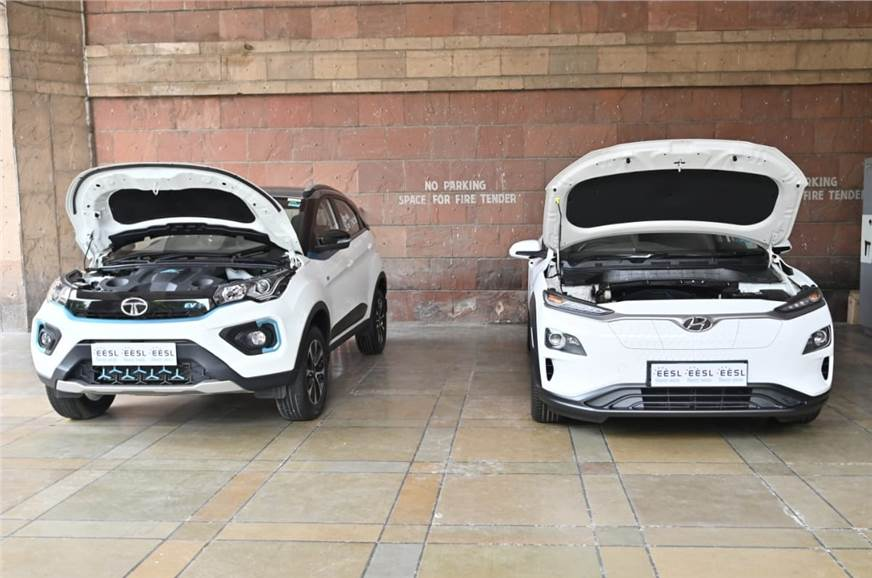Tata Nexon EV, Hyundai Kona Electric to be supplied to EESL