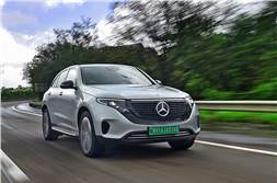 Mercedes-Benz EQC India review, test drive