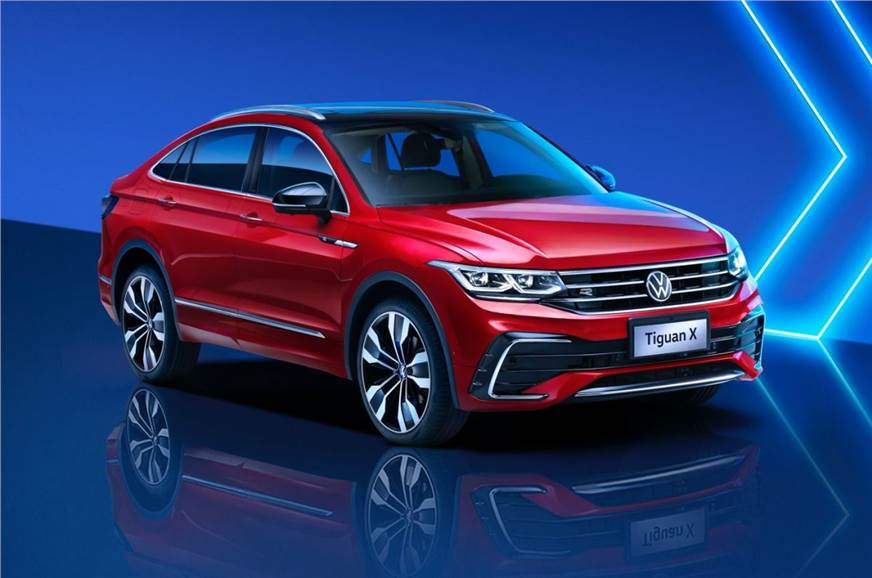 New Volkswagen Tiguan X Coupé-SUV officially revealed