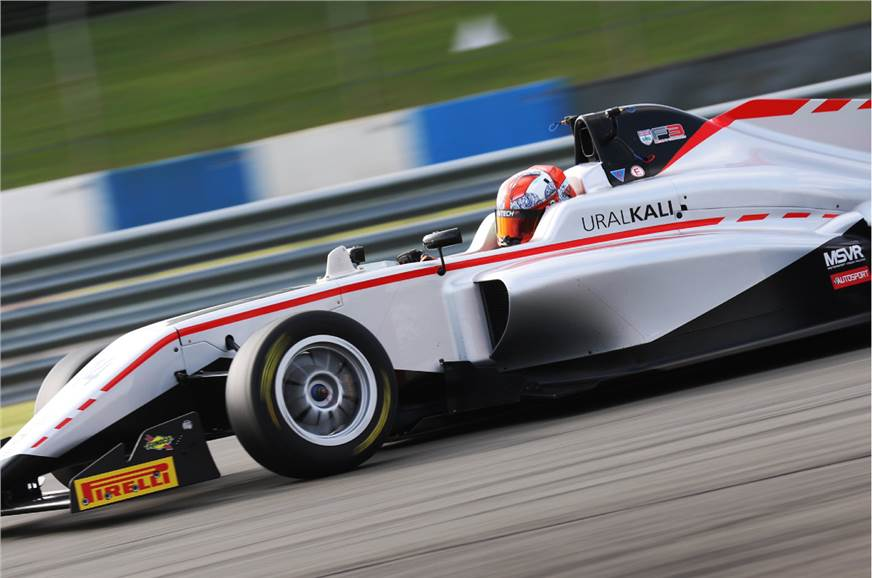 Kush Maini extends British F3 lead with Donington Park win