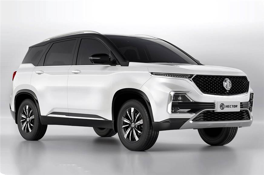 MG Hector dual tone launched at Rs 16.84 lakh