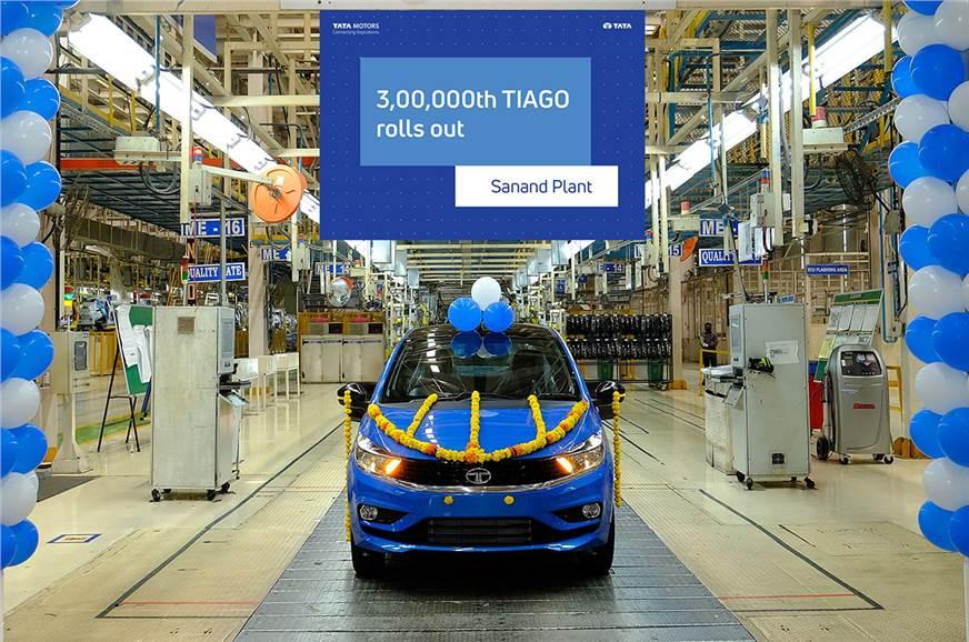 Tata Tiago crosses 3 lakh unit production milestone