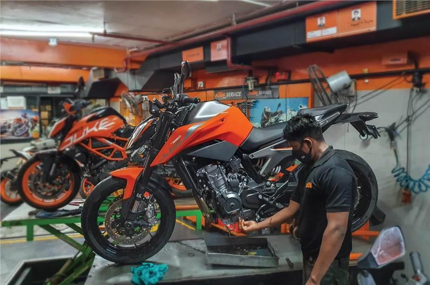 KTM 790 Duke long term review, second report