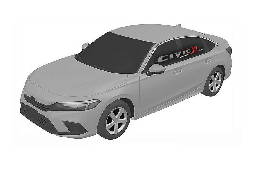 New Honda Civic design cues revealed in patent images