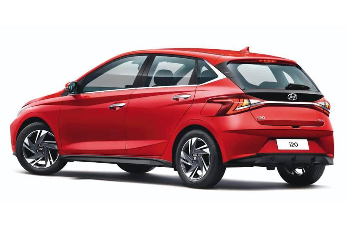 New Hyundai i20 exterior rear