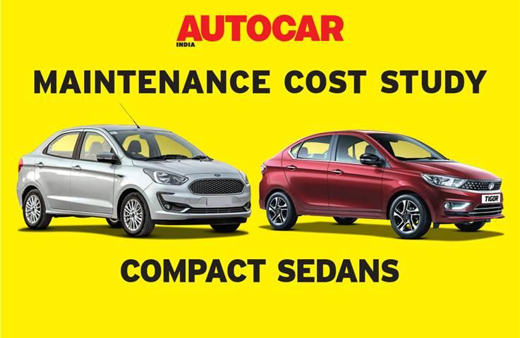 Car maintenance cost comparison Part 6: Compact sedans