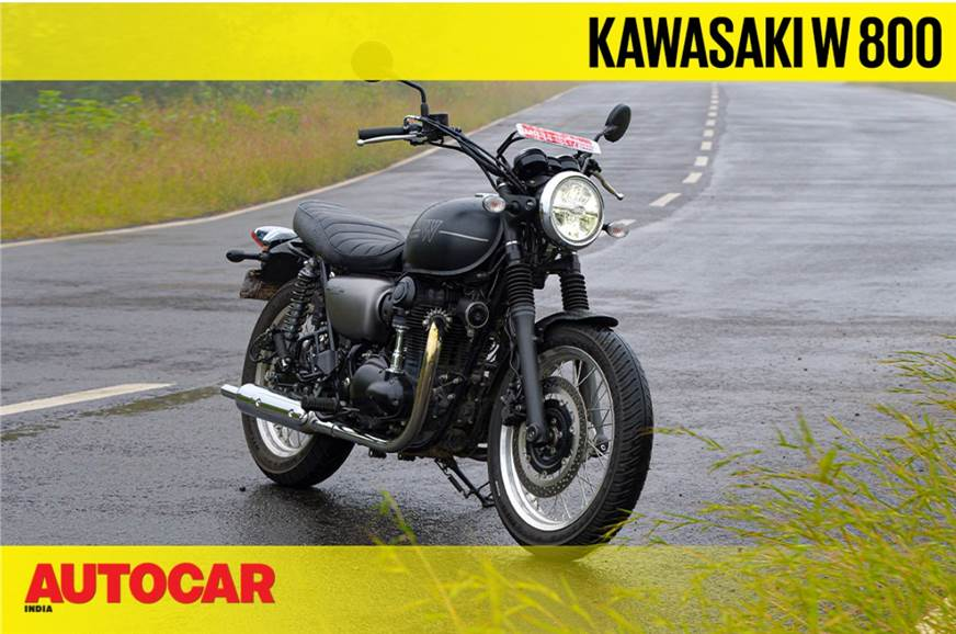 2020 Kawasaki W800 video review