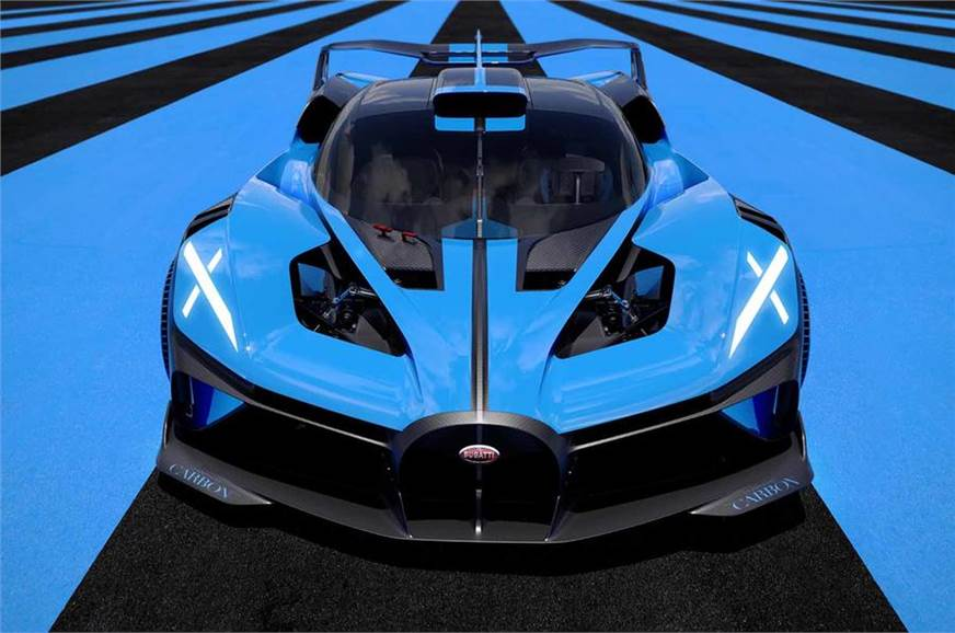 Bugatti Bolide hypercar unveiled