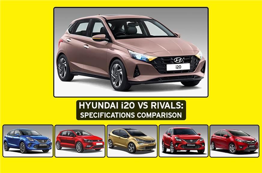 New Hyundai i20 vs rivals: Specifications comparison