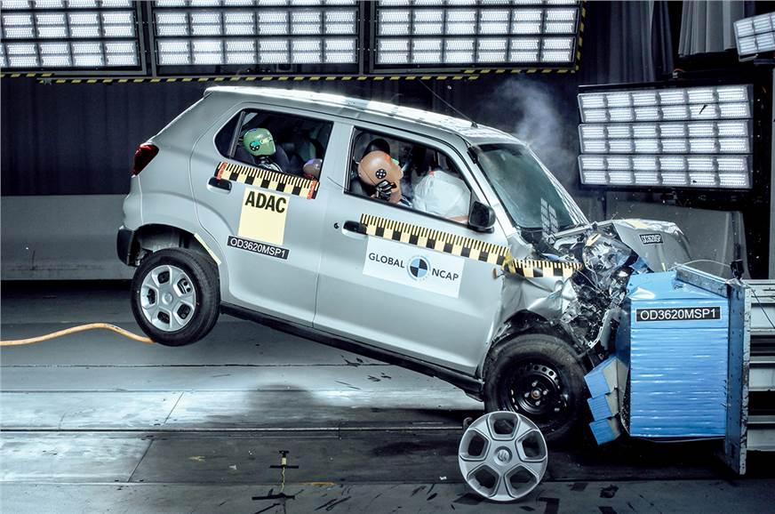 Maruti Suzuki S Presso scores 0 stars in Global NCAP crash tests