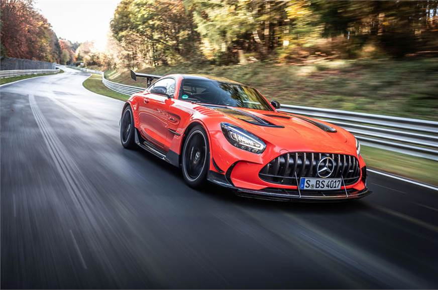 Mercedes-AMG GT Black Series claims Nurburgring lap record